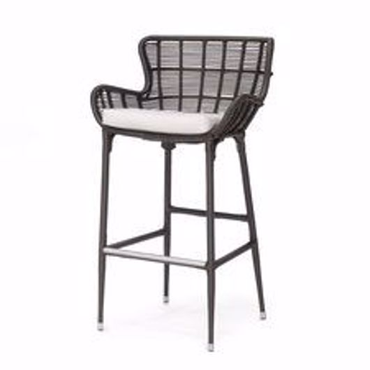 """Picture of PALERMO OUTDOOR 30"""" BARSTOOL ESPRESSO"""