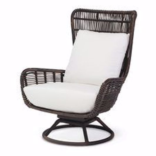 Picture of SORRENTO OUTDOOR SWIVEL LOUNGE CHAIR