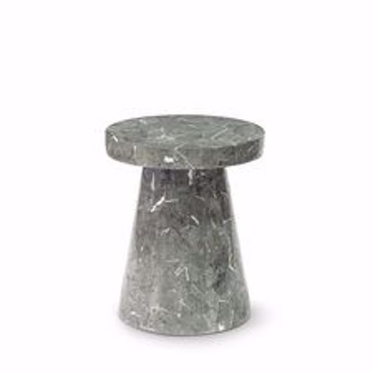 Picture of FOLEY STONE OUTDOOR SIDE TABLE SHORT GREY