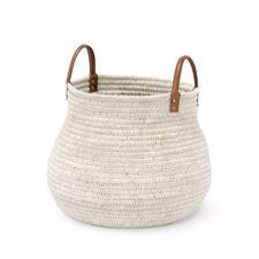 Picture of CAIRO BASKET WHITE LARGE